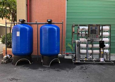China 5TPH Industrial Deionized Reverse Osmosis Drinking Water Treatment System supplier