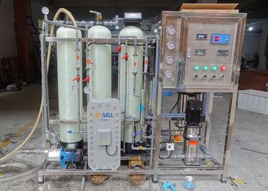 China EDI Ultrapure Water System / Machine For Purifying Pharmaceutical / Cosmetic Water supplier