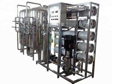 China 5000L/H Stainless Steel RO Mineral Water 5TPH Ozone Water Treatment System supplier