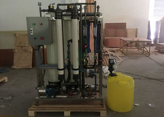 China 380V 1000LPH Water Purification Systems FRP / SS304 Ro Plant For Commercial supplier