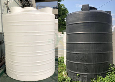China Outdoor Vertical Water Tank Water Treatment Accessories / Large Bucket 20 Tons PE Storage Tank supplier