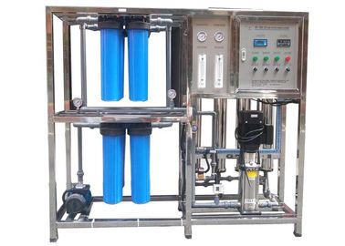 Pure Water RO Water Treatment Plant / Reverse Osmosis System With Big Filter Cartridge