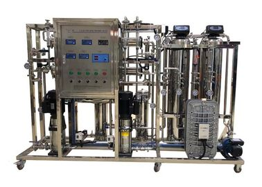 China 250L/H RO EDI Machine For Dialysis / Distill Water With Sand Carbon Cartridge supplier