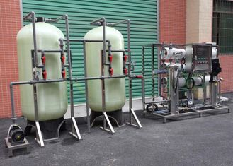 3TPH RO System Industrial Reverse Osmosis Plant For Borehole Water Treatment