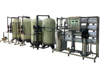 China 4000lph Automatic Ro System With One Work One Standby Water Softener Hardness Removal supplier