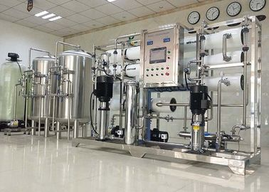 China 3000LPH Ultrapure Water RO System For Dialysis / Car Wash / Painting / Cosmetic supplier