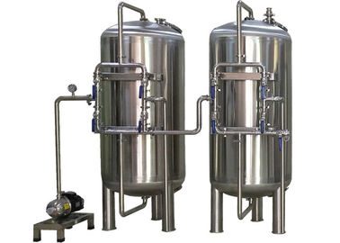 China Stainless Steel 304 Ultrapure Water System For Dialysis / Drinking / Boiler Filter Plant supplier