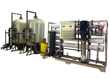 China 6000LPH Brackish Water Treatment System 10000PPM TDS Salty RO Water Purifier supplier