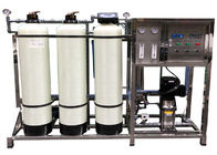 250LPH FRP Reverse Osmosis Plant Water Softener System For Remove Dissolved Solids From Water