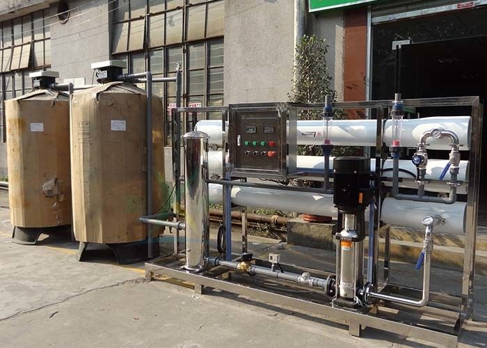 Customized RO System / Big Water Purifier Machine 6T/H With Automatic  Control Valve