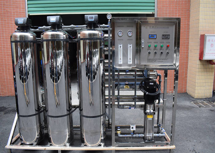 Filtration RO Water Purifier Machine , Pure Drinking Water Treatment System  Fully Stainless Steel