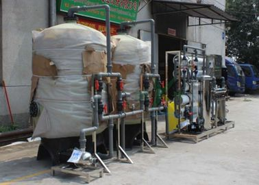 China 10T/H Ion Exchange Water Treatment System For Drinking Water / Milk / Beverage factory