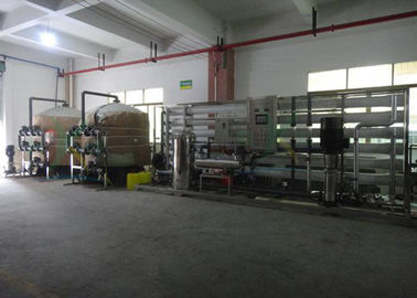 China 4 Stage Commercial RO Water System , RO Water Filter Plant With Cartridges factory