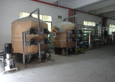 China Reverse Osmosis Ion Exchange Filtration System 30TPH 250 RO Drinking Water Purifier factory