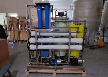 China Anti Corrosive Desalination Water Treatment , 4000LPD Seawater Reverse Osmosis System factory