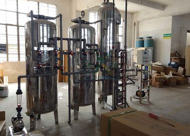 China Industrial Mixed Bed Ion Exchange Water Treatment System Resin Membrane 6000L/H distributor
