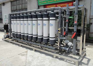 40TPH Fiberglass Ultrafiltration Membrane System For Fruit / Vegetable Juice