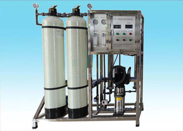 China Fiberglass Tank Ion Exchange Resin Water Filter / Softener Systems 500 Liters / H factory