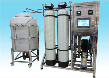 China 500LPH Ion Exchange Water Treatment System / Purifying Machine For Bottle Drinking factory