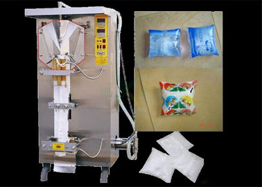 China Multi Function Liquid Pouch Packing Machine 1000LPH For Packing Soy Milk / Mineral Water distributor
