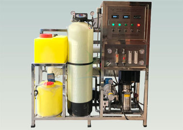 Two Stage Seawater Desalination System , 4000 LPD Water Desalination Machine For Home