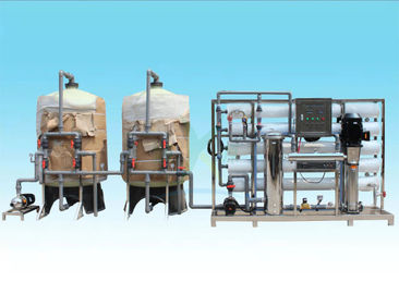 China Customized Ion Exchange Water Treatment System 10T/H For Drinking Water / Beverage distributor