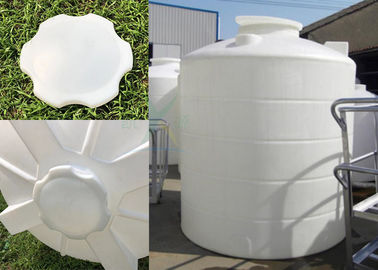 China Industrial Polyethylene Corrosion Resistant Plastic Water Tower / 15000L Large PE Water Storage Tanks 15T factory