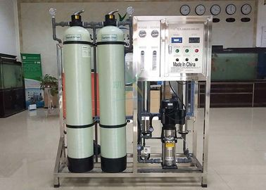 China 500LPH Ro System Well Water Filtration Plant 500LPH Fiber Glass / 304 Industrial Water Filter distributor