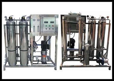 China Car Wash Stainless Steel Reverse Osmosis System With Sand And Carbon Filter distributor