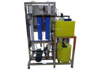China High Salinity Seawater Desalination System For Electronic Industry 100L/H distributor
