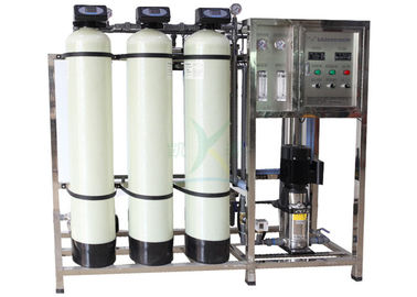 China 0.5T FRP Water Softener System For Remove Dissolved Solids From Water factory