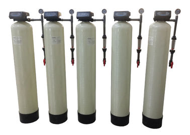 China Automatic Water Softener System Flush Hardness Remove With Cation Resin distributor