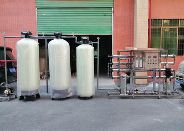 China 2000L/H Softener RO System Hardness TDS Remove For Boiler Industrial Water Filter distributor