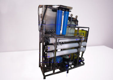 China RO Seawater Desalination Machine Reverse Osmosis Water Filtration System 220 / 380V distributor