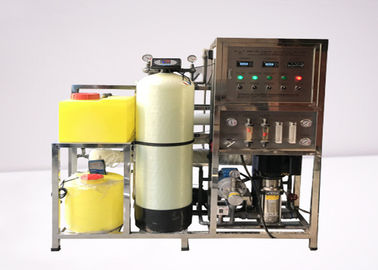 China Seawater Desalination Equipment / Reverse Osmosis Water Purification System 4000LPD distributor