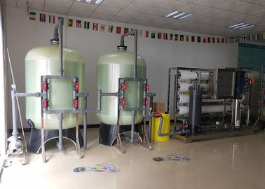 China High Salty Reverse Osmosis System / Purification System 6000L/H RO Water Filter distributor
