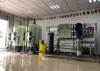 China Reverse Osmosis Plant 6000L/H Water System For Remove Dissolved Solids From Water distributor