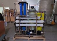 Two Stage Seawater Desalination System , 4000 LPD Water