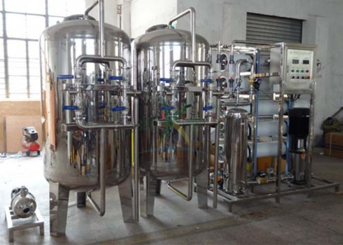 5000L/H Stainless Steel RO Mineral Water 5TPH Ozone Water Treatment System