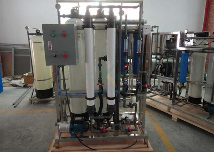 380V 1000LPH Water Purification Systems FRP / SS304 Ro Plant For Commercial