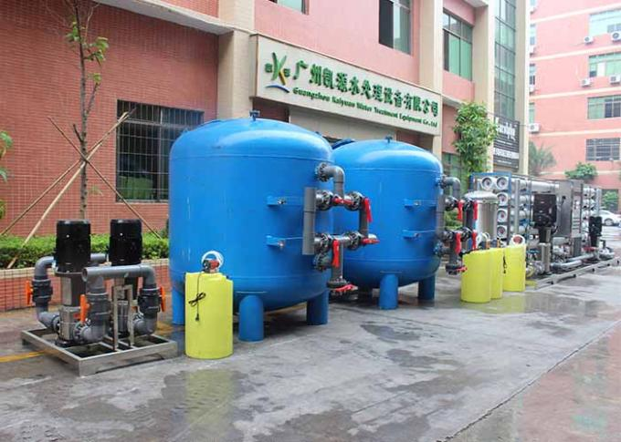 50TPH Iron Removal Water Systems Automatic Desalination Of Brackish Water By Reverse Osmosis Water Purification Unit