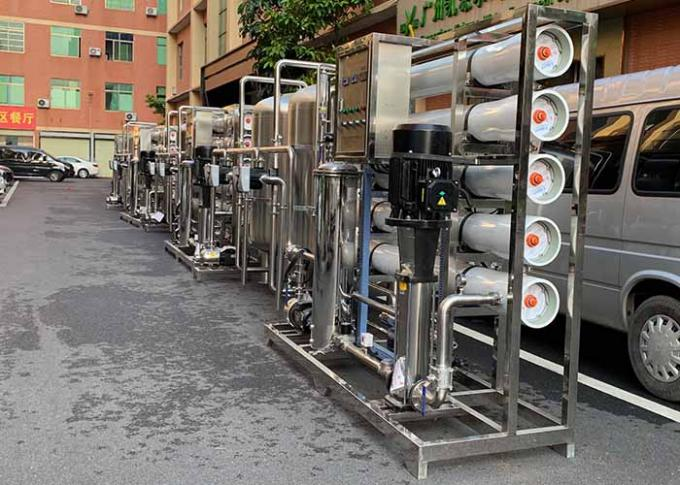 10TPH Iron Removal Water Systems , Pure Water Reverse Osmosis Equipment For Irrigation