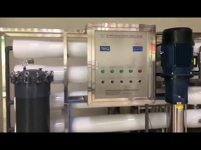 6000LPH Brackish Water Treatment System 10000PPM TDS Salty RO Water Purifier